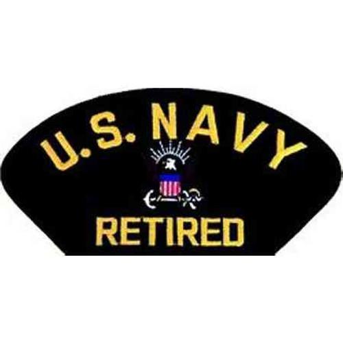 u s navy retired patch