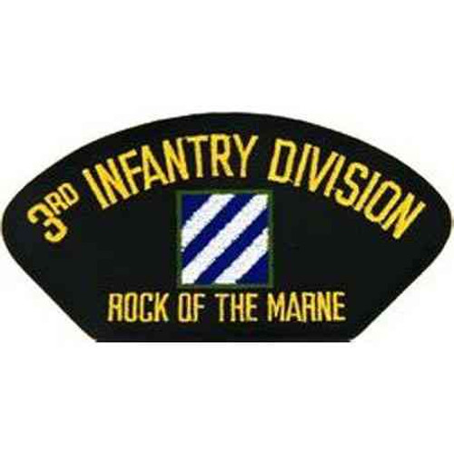army 3rd infantry division unit insignia patch