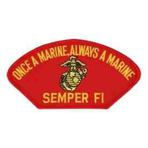 once a marine always a marine patch