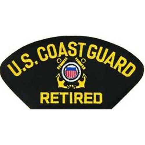 uscg retired patch