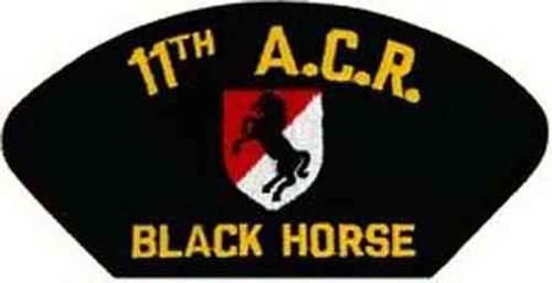 11th armored cavalry patch