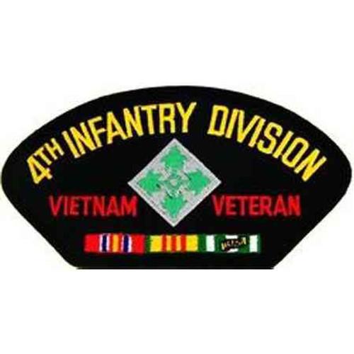 army 4th inf vietnam vet patch