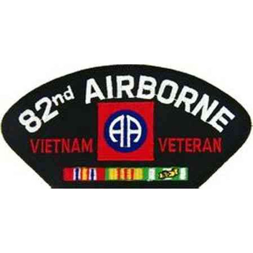 82nd airborne division vietnam veteran patch