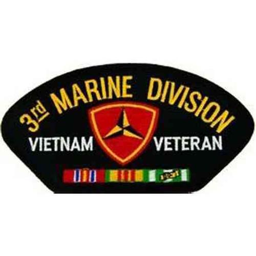 vietnam 3rd marine div vet patch