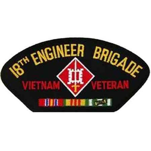 vietnam 18th eng bde vet patch