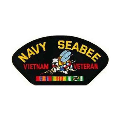u s navy vietnam seabee vet patch