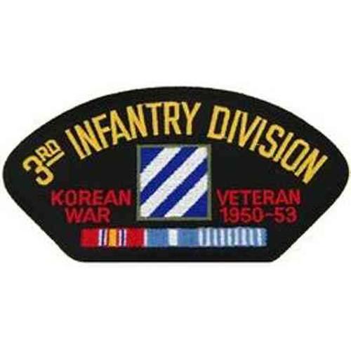army 3rd infantry division korean war veteran patch