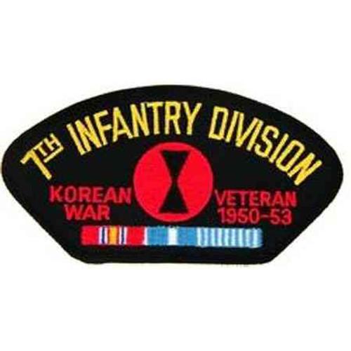 korea 7th inf vet patch