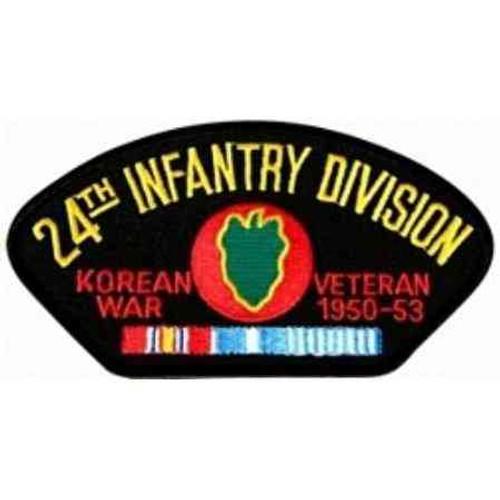 korea 24th inf vet patch