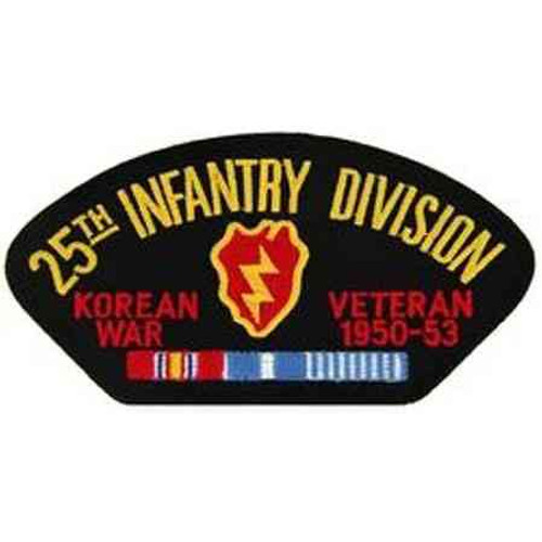 korea 25th inf vet patch