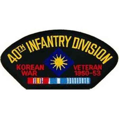 korea 40th inf vet patch