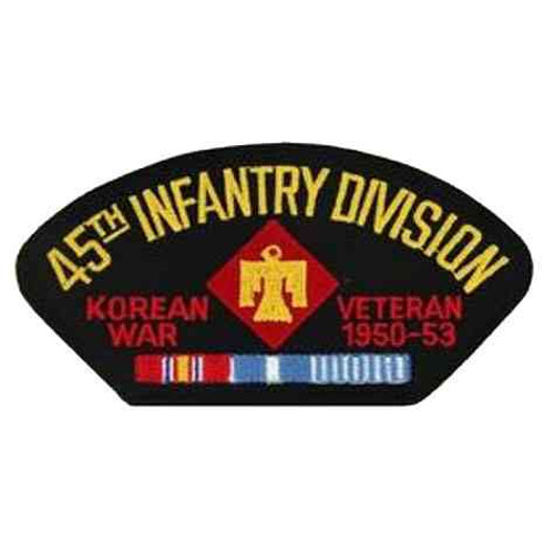 korea 45th inf vet patch