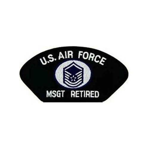 u s air force e7 msgt retired patch