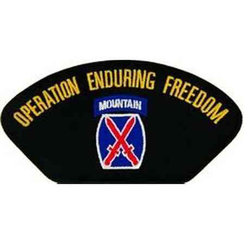 afghanistan 10th mountain patch