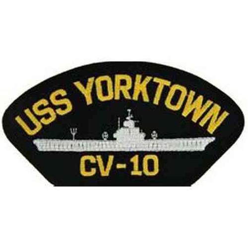 uss yorktown patch