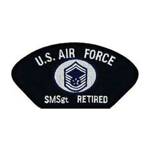 u s air force e8 smsgt retired patch