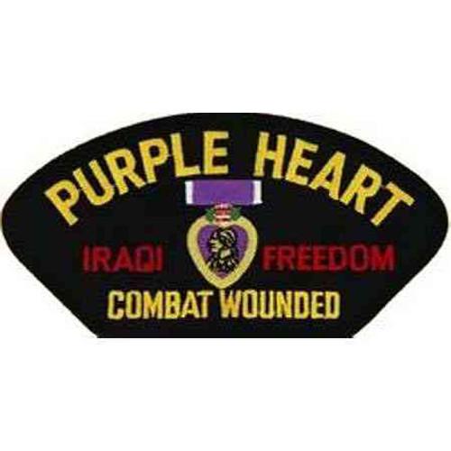 iraq purple heart patch