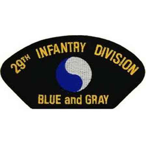29th inf div patch
