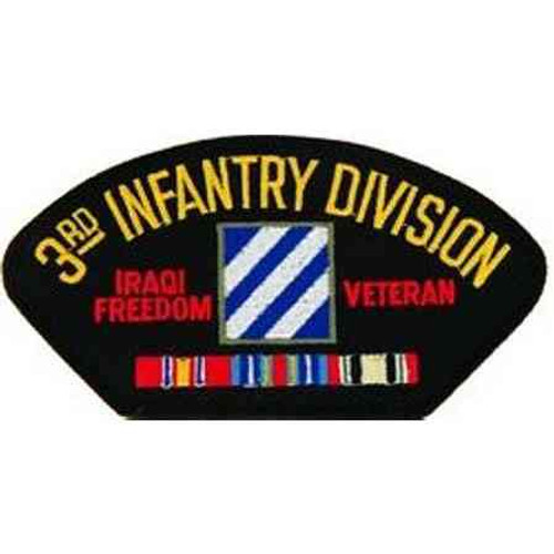 army 3rd infantry division iraq veteran patch