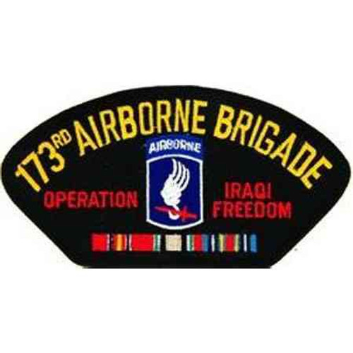 iraq 173rd a b bde patch