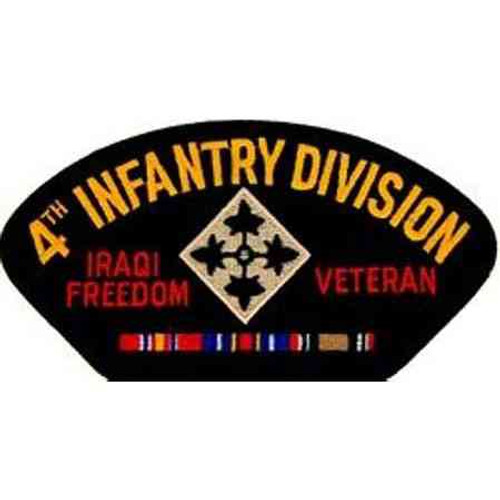 army 4th infantry division iraq veteran patch