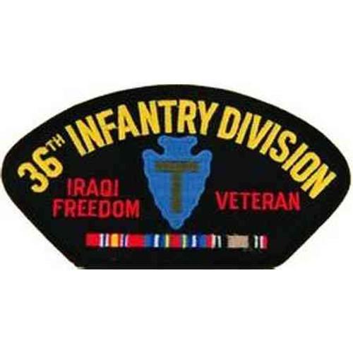 iraq 36th inf vet patch