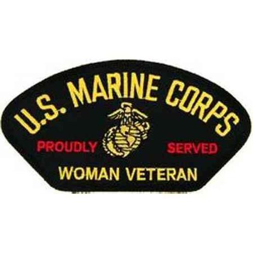 usmc woman vet patch