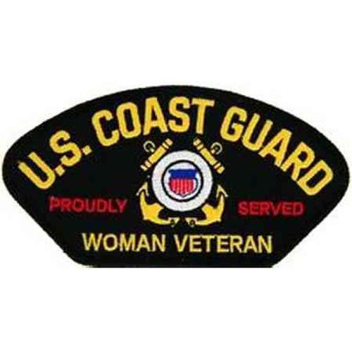 uscg woman vet patch
