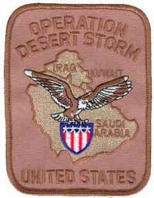 u s operation desert storm patch