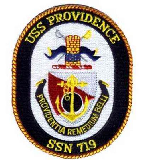 u s navy uss providence ssn patch