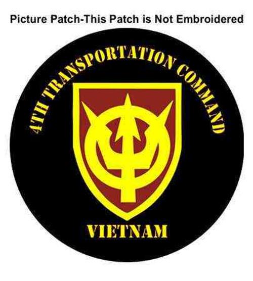 4th transportation command vietnam war patch