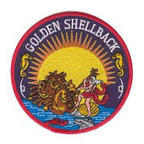 u s navy golden shellback patch