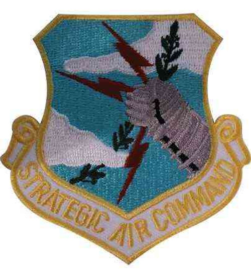 us air force strategic air command beret patch