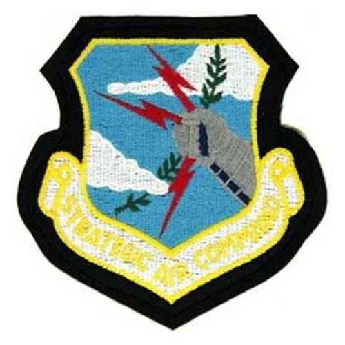 strategic air command velcro patch