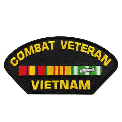 combat veteran vietnam patch