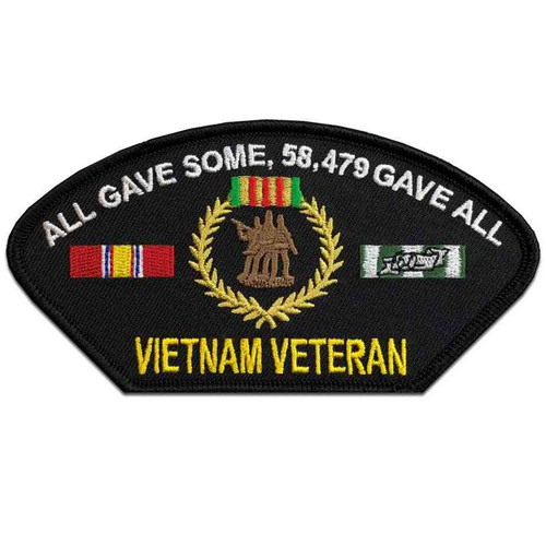vietnam veteran all gave some 58479 gave all patch