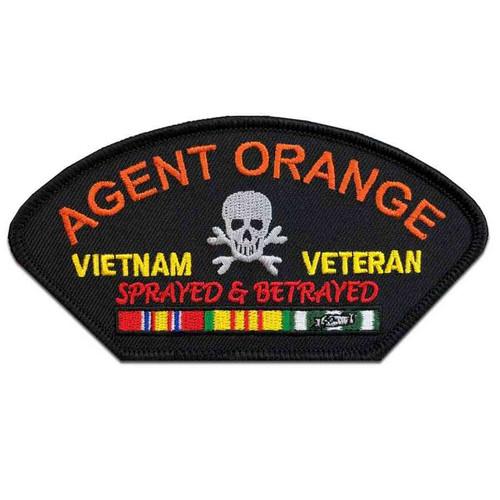 vietnam veteran ribbons agent orange patch