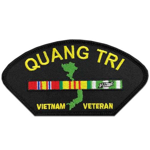 vietnam veteran ribbon quang tri station patch