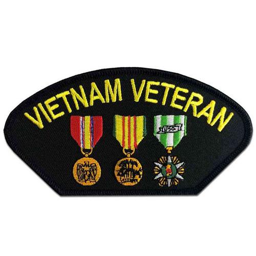 vietnam veteran patch 3 medals