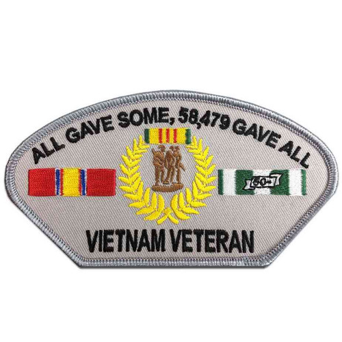 vietnam veteran patch all gave some 58479 gave all grey
