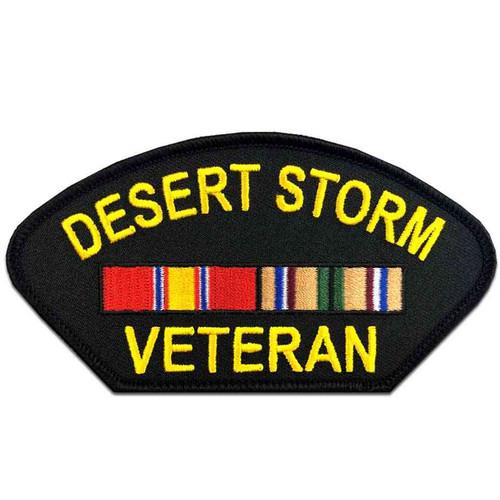 desert storm veteran patch ribbons