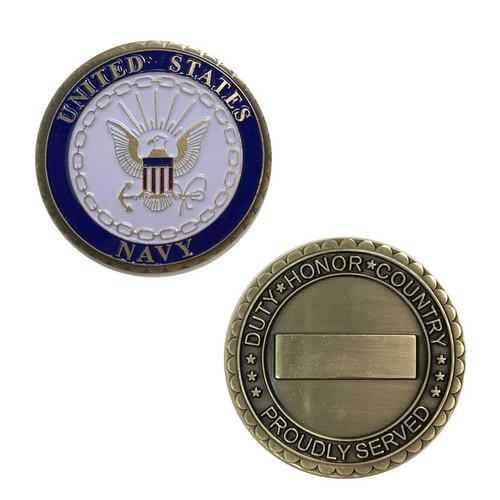 u s navy challenge coin