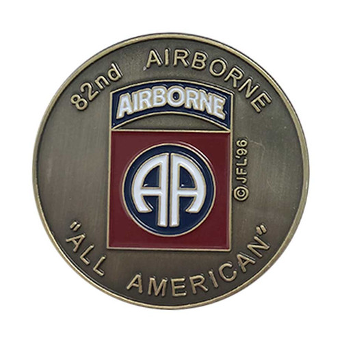Army 82nd Airborne Challenge Coin