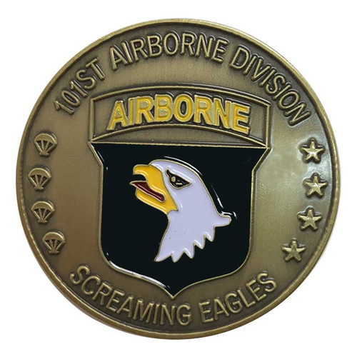 Army 101st Airborne S.E. Challenge Coin