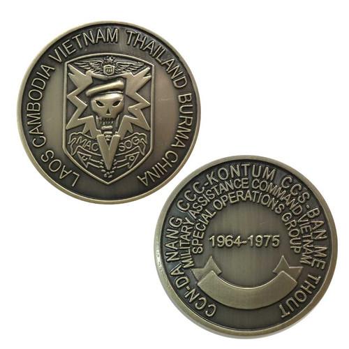 airborne vietnam challenge coin