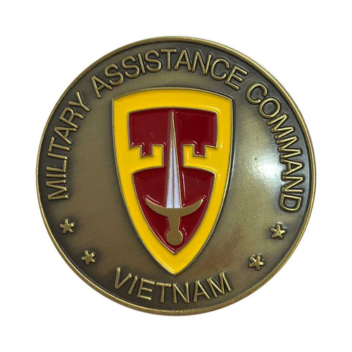 Army Military Assistance Challenge Coin