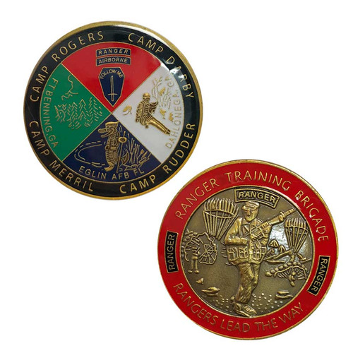 Army Rangers Lead The Way Challenge Coin