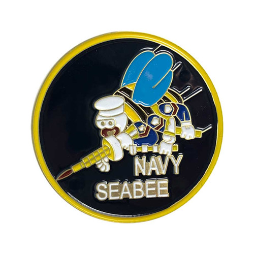 Navy Seabee Challenge Coin