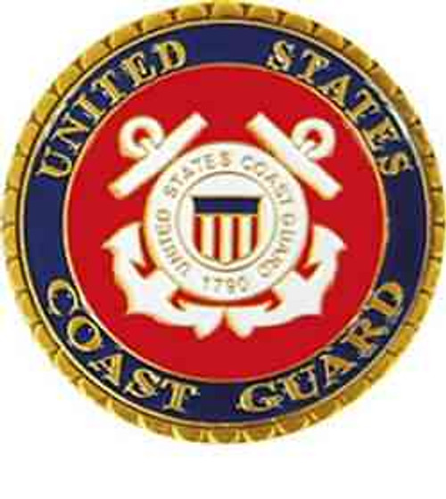 united states coast guard challenge coin anchor insignia