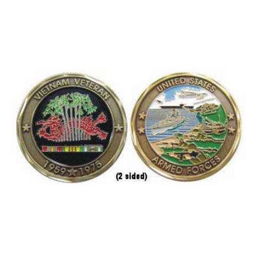 vietnam veteran deluxe challenge coin